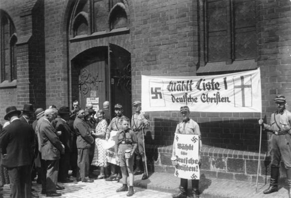 Kirchenwahl.- Propaganda der